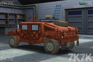 《停靠越野军车》游戏画面2
