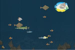 《深海快乐吃鱼》游戏画面1