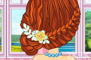 《新娘子的完美发型》游戏画面1
