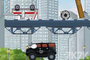 《奇趣撞车2加强版》游戏画面3