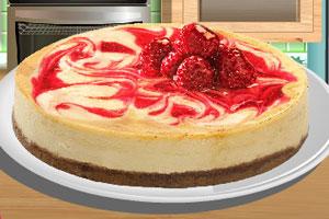 《制作草莓芝士蛋糕》游戏画面1