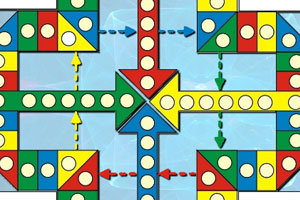《飞行棋》游戏画面1