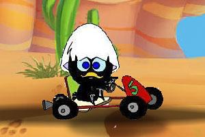 蛋先生开小车