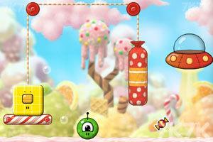《外星人玩转糖果世界》游戏画面1
