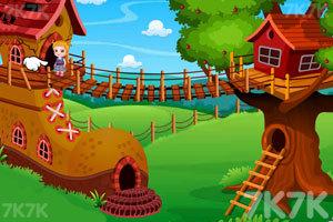 《可爱宝贝的树屋》游戏画面5