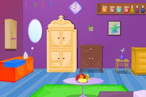 《紫色客厅逃离》游戏画面1