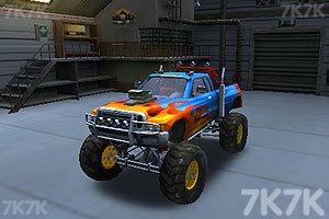 《3D怪物卡车停车》游戏画面4