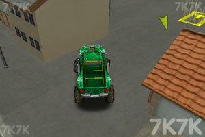 《3D怪物卡车停车》游戏画面3