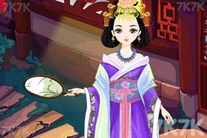 《中国古代美公主》游戏画面3