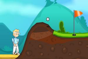 《野外高尔夫》游戏画面1