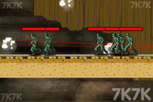 《军事战役之地下风暴2》游戏画面1
