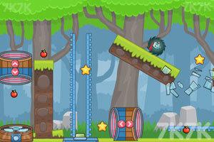《刺猬果果的苹果乐园2》游戏画面3