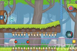 《刺猬果果的苹果乐园2》游戏画面6