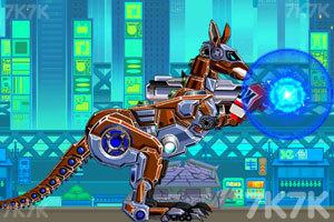 《组装拳击袋鼠》游戏画面2