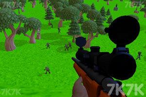 《狙击南瓜僵尸》游戏画面2