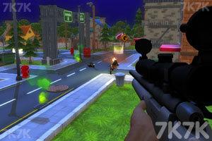《狙击南瓜僵尸》游戏画面1