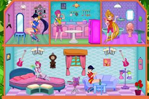 《小精灵的别墅》游戏画面1