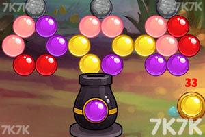 《泡泡历险记选关版》游戏画面2