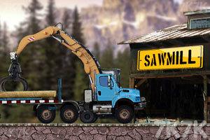 《木材运输车》游戏画面3
