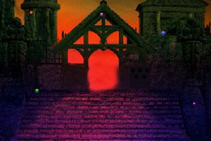 《阴郁的城堡逃脱》游戏画面1