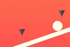 《小球躲躲躲》游戏画面1