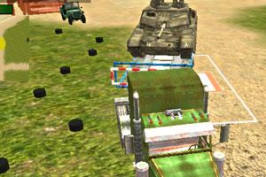 《军队坦克运输车》游戏画面1
