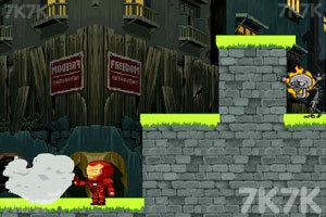 《钢铁侠生存战》游戏画面2