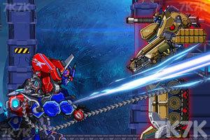 《组装机械坦克战士》游戏画面3