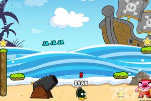 《轰炸海盗猪》游戏画面5
