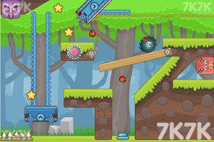 《刺猬果果的苹果乐园2H5版》游戏画面2
