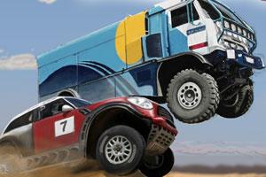 《达喀尔汽车拉力赛》游戏画面1