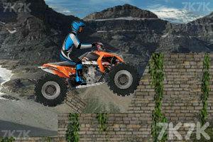 《四轮越野摩托挑战》游戏画面2