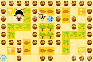 《小黑花花小蜜蜂》游戏画面2