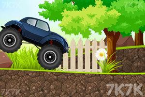 《岩石甲壳虫越野车》游戏画面2