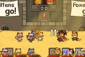 《猫咪竞技场》游戏画面2