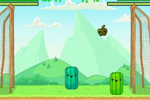 《西瓜投籃》游戲畫面1