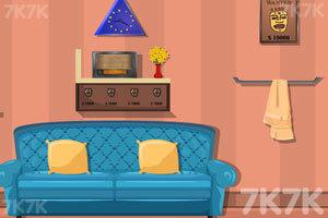 《漂亮家庭小屋逃脱》游戏画面1