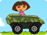 朵拉开坦克
