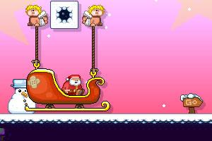 《圣诞老人快点跑3》游戏画面2