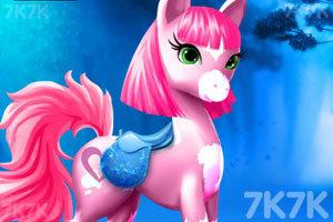《照顾漂亮的小马》游戏画面1