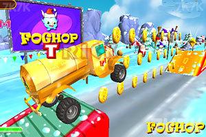《圣诞老人开卡车》游戏画面4