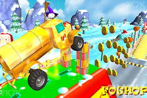 《圣诞老人开卡车》游戏画面3