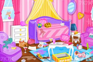 《漂亮公主打扫房间3》游戏画面1