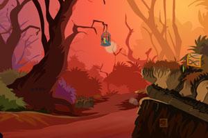 《红嘴鹦鹉逃脱》游戏画面1