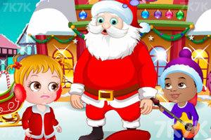 《可爱宝贝的圣诞节惊喜》游戏画面1