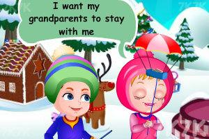 《可爱宝贝的圣诞节惊喜》游戏画面4