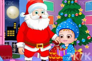 《可爱宝贝的圣诞节惊喜》游戏画面3