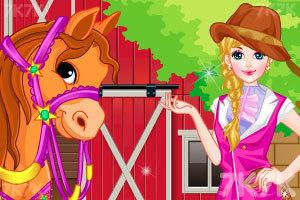 《女孩和她的小马》游戏画面2