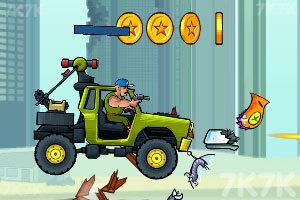 《武装越野车HD》游戏画面4