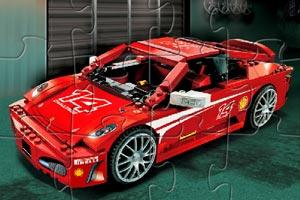 《新式乐高赛车拼图》游戏画面1